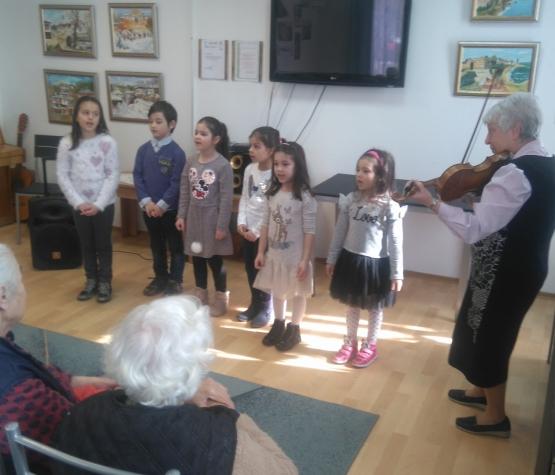 Посещение на децата от ДГ66