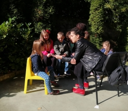 """Участие на децата от ДГ №66 """"Елица"""" в радиопредаването """"Радиолексикон"""""""