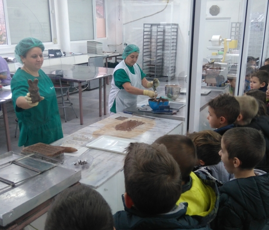 Екскурзия до шоколадовата фабрика в с. Владо Тричков