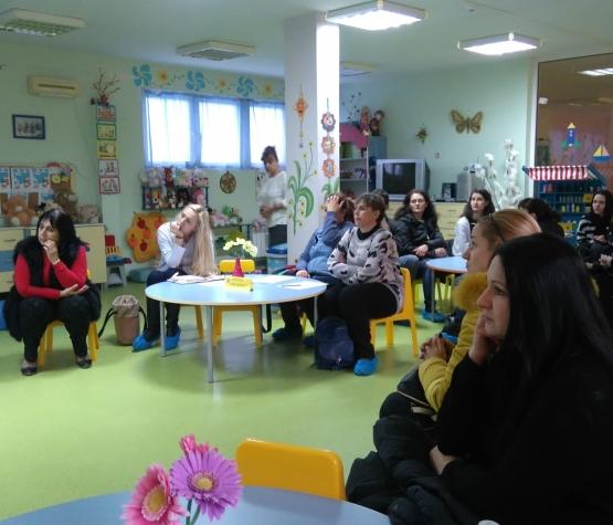 """Кръгла маса с родители на тема """"Особености на психическото развитие на деца та от 1 до 6 години"""" в ДГ """"Елица"""""""