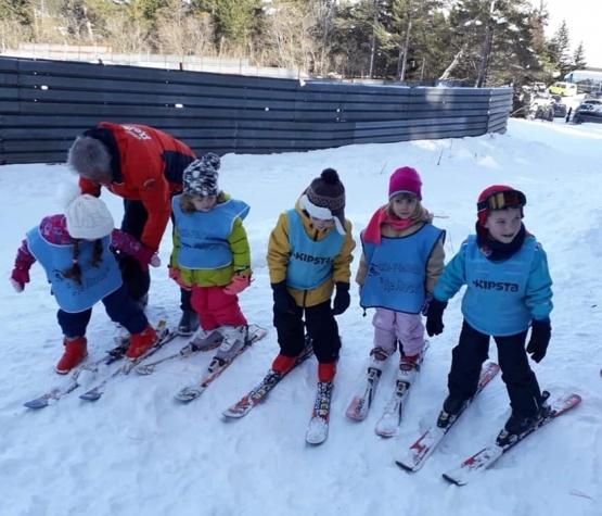Ски-обучение на децата от ДГ