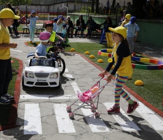 Празник по Безопасност на движението в детската градина